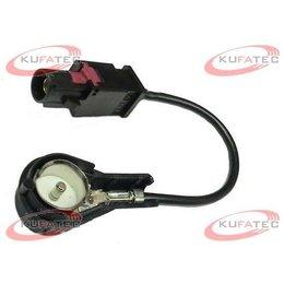 Antennenadapter FAKRA schwarz - 50 Ohm ISO