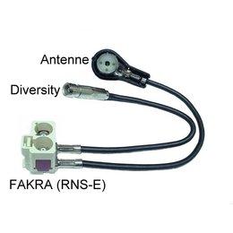 Audi Antennenadapter Diversity-Navigationseinheit RNS-D auf RNS-E