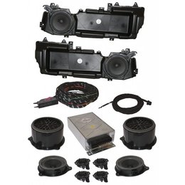 DSP Soundsystem -Complete-met MMI Basic- Audi A6 4F