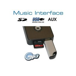 Digital Music Interface - USB/SD - White Connection - Honda