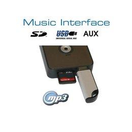 Digital Music-Schnittstelle - USB / SD - Blau-Verbindung - Honda