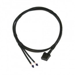 Fiber Optic Wire - MOST - 2x 1200mm w/Protective Cover