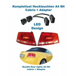 Facelift LED Rear Lights - Retrofit - Audi A4 8H Cabrio