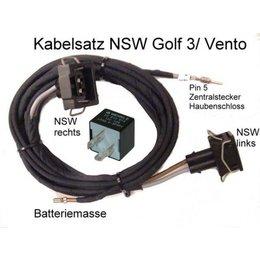 Fog Light Wiring- Harness w/Relay- VW Polo 6N, VW Golf 3 III