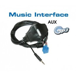 Digital Music Interface - Jack - Mini ISO - Audi/VW