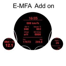 E-MFA DIS Add-On - Display Boost, Oil, Batterij