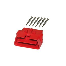 OBD Diagnose Stecker 16-polig inkl. 6 Kontakte