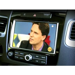 Video in Motion - RNS 850 - VW Touareg 7P
