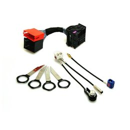 Audi-Upgrade-Kit Kopfeinheit RNS-D >>> RNS-E
