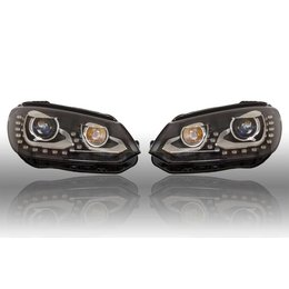 Volkswagen Bi-Xenon verlichting LED DTRL - Upgrade - VW EOS 2012