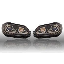 Bi-Xenon verlichting LED DTRL - Upgrade - VW EOS 2012