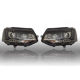 Bi-Xenon Headlights LED DTRL - VW T5 GP