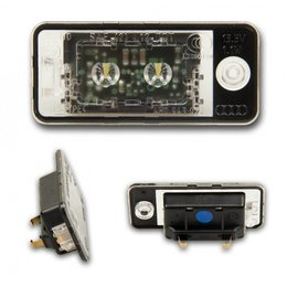 LED number plate light - original Audi - 4H0 943 021 / 4H0 943022