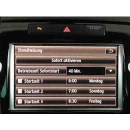 Retrofit kir parking heater VW Touareg 7P 4 zone clima