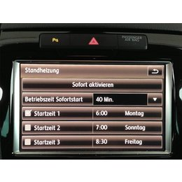 Retrofit kir parking heater VW Touareg 7P