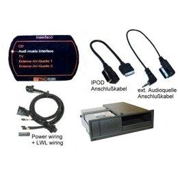 Nachrüst-Set AMI (Audi Music Interface) für Audi A5 8T MMI 2G - iPod