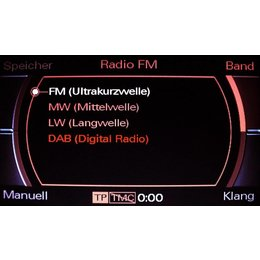 DAB Digital Radio - bedrading - Audi A4 8K MMI 2G