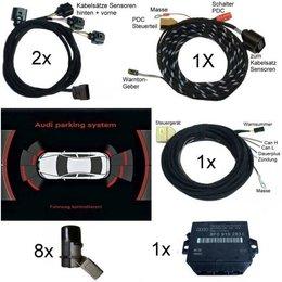 Set APS+ plus (optische Anzeige MMI/Radio) Front + Heck für Audi Q5 - ab Modelljahr 2013