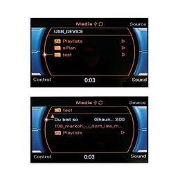 Nachrüst-Set AMI (Audi music interface) für Audi A4 8K, A5 8T CAN - iPod