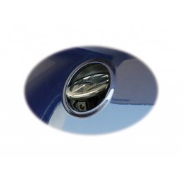 VW rear emblem camera - Retrofit - VW EOS - RNS 510 - Multimedia adapter available - w / o guides