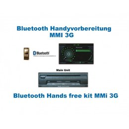 Upgrade Bluetooth Schnittstelle auf Handyvorbereitung für Audi A6 4F MMI 3G - ohne Navigation