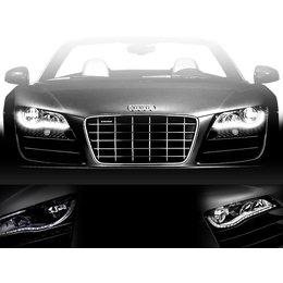 LED headlight upgrade - Audi R8