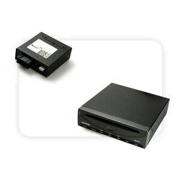DVD Player + Multimedia Adapter LWL ohne Steuerung RNS 850 | DVD-Wechsler vorhanden