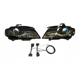 Bi-Xenonscheinwerfer-Set mit LED-Tagfahrlicht für Audi A4 8K - Linksverkehr