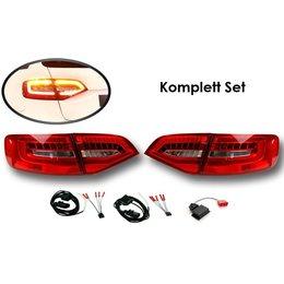 Bundle LED taillights Audi A4 / S4 Avant Facelift