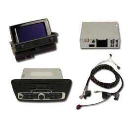 Nachrüst-Set MMI3G Navigation plus für Audi Q3 8U - passiv Lautsprecher