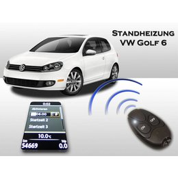 Auxiliary heating VW Golf 6 VI