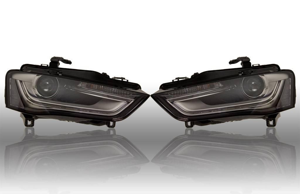 Bi-Xenon verlichting LED DTRL - Audi A4 8K Facelift - links verkeer ...
