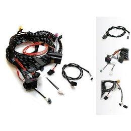 Upgrade Radio systeem MMI-High 3G - Kabelboom - Audi - B & O Soundsystem 9VK