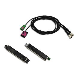 Antenna Module + cable set FISCUBE Audi A8 4H - DAB not available