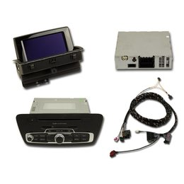 Nachrüst-Set MMI3G Navigation plus für Audi Q3 8U - Aktiv Lautsprecher