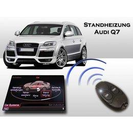 Retrofit-set Auxiliary heating Audi Q7 - MMI2G