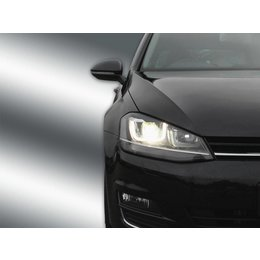 Complete bi-xenon headlamps with LED DRL Golf 7 - electr. damper control