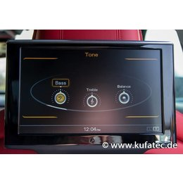 Rear Seat Entertainment System - wiring - Audi A8 4H
