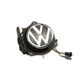 Complete set Achteruitrijcamera VW Golf 7 VII in Logo