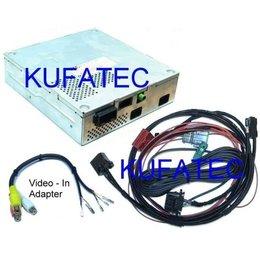 TV Receiver - Retrofit - Audi A8 4H - with DVD changer, MPEG4