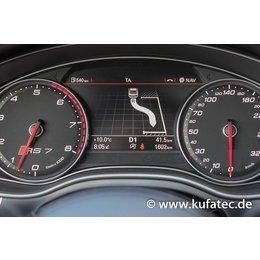 Complete Set park steering assistant Audi A6 4G - park assis. avail.