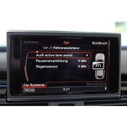 Active Lane Assist incl traffic sign recognition Audi A8 4H