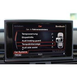 Verkeer erkenning teken Audi A6, A7 4G