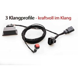 Kufatec Soundbooster Pro Active Sound VW Golf 7 VII GTD
