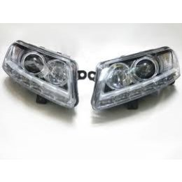 Bi-Xenon / LED headlamps - Audi A6 4F w / Daylight