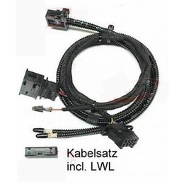 DVD Navigation - harness - Audi A6 4F - Shark antenna in car color