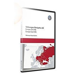 VW Navigatie update, Oost-Europa (V8) 3AA051866AJ