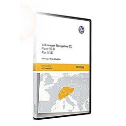 VW Navigation update RNS CD, Alps (V13)