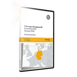 VW Navigation update RNS CD, Germany (V13)