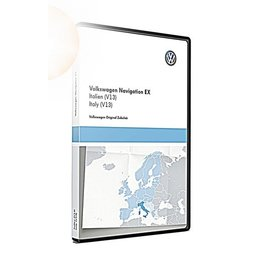 VW Navigatie update, RNS 300, Italië (V13) TPC116E1ITA